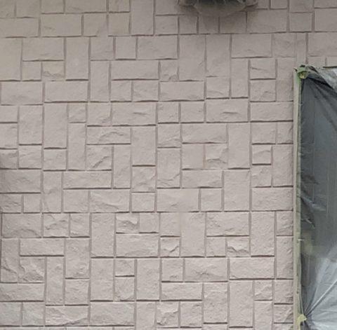 サイディングの壁にもこだわってます。2020/9/15日から16日の塗装作業です。